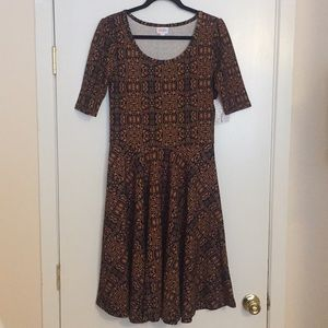 L LuLaRoe Nicole Dress D05 837
